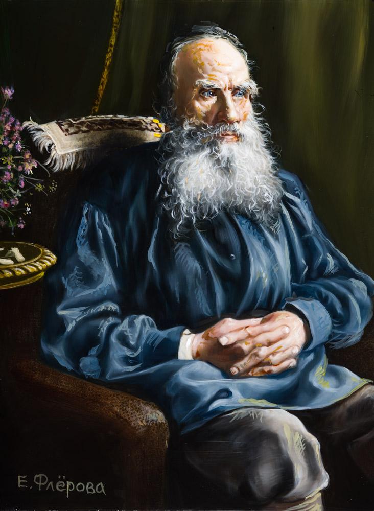 композиция портрет толстого картинки лагерь, получивший свое